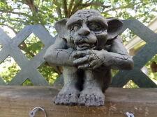 Larry Miller 1992 Sitting Gargoyle Garden Statue - United Design Corporation