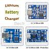 2/5/10PCS TP4056 Mini/Micro USB 18650 Lithium Battery Module 5V 1A Charger Board
