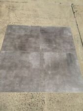 "Grey Rustic Matte ""Polished Concrete Look"" Porcelain Floor Wall Tile 600x600mm"