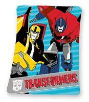 große Fleecedecke Transformers 130x160cm Decke 7092 Optimus Prime