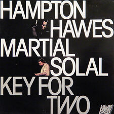 HAMPTON HAWES, MARTIAL SOLAL Key For Two UK Press Affinity AFF 31 LP