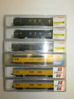 Konvolut 6 Roco Spur N Postwagen Gerätewagen 24389  25131 OVP