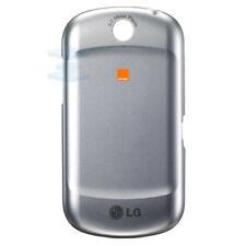 Genuino Original Tapa Trasera de Batería para LG P350 Optimus Me-Plata