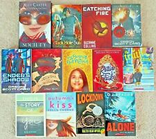 Lot of 13 Fiction Summer Fun Reading Books for Ages 11 to 18 Years Grades 6+ NEW
