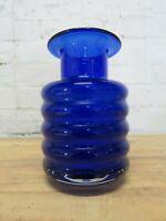 SYMPATHISCHE ALTE VASE BLUMENVASE GLASVASE GLAS 60ER 70ER JAHRE VINTAGE ORIGINAL