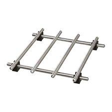 IKEA Lamplig petits pot Dessous de plat en acier inoxydable stand plan de travail protecteur 18 x 18 cm