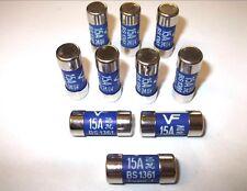 15 Amp Consumidor Unidad Fusible Caja. Cartucho Iluminación. Heating. Toma Vario