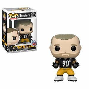 T.J. WATT PITTSBURGH STEELERS FUNKO POP! VINYL FIGURE #98 NEW BOX