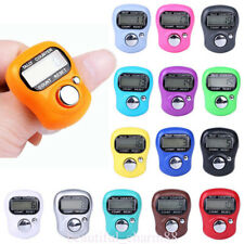 5Digit Digital LCD Electronic Golf Finger Hand Ring Row Tally Counter Tool Acces