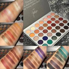35 Colors Matte Shimmer Earth Warm Tone Eyeshadow Palette Eye Shadow Make-up Set