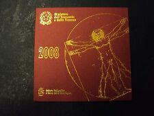 ITALIA REPUBBLICA 2008 DIVISIONALE SERIE ZECCA 8 MONETE IN EURO FDC