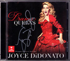 Joyce DiDonato SIGNED Drama Queens commercio porta cesti odio Haydn CD Alan Curtis