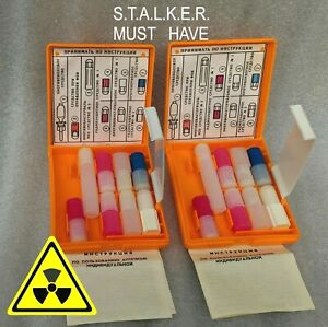 2 x Army Medic First Aid kit box NBC Survival Chernobyl USSR STALKER Tarkov
