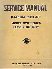 Datsun Model 620 Chassis And Body Service Manual By Nissan Motor Company