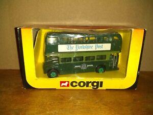 "Corgi ""Yorkshire Post"" Special Limited Edition John Ayrey Die Cast Bus 1984"