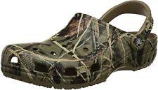 Crocs Unisex Adult Mens Classic Realtree Clogs Sandles Shoes Camouflage Khaki