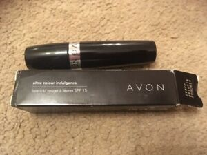 Avon Ultra Colour Inteligence lipstick spf 15,  PEACH PETUNIA, brand new in box