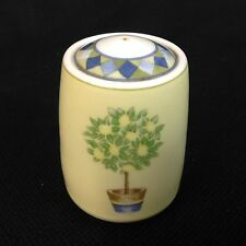 Royal Doulton Carmina Pepper Shaker Lemon Tree Blue Green Yellow