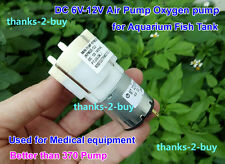 DC 6V-12V Mini Inflatable Air Pump Blood Pressure Oxygen Pump Aquarium Fish Tank