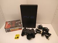 Sony PlayStation 2 PS2 Fat Console 5 Games Excellent Condition Tested Working!