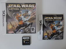 STAR WARS LETHAL ALLIANCE - NINTENDO DS - JEU DS DS LITE DSI 3DS COMPLET