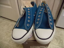 VINTAGE NEVER USED WITH BOX CONVERSE CHUCK TAYLOR MADE IN USA BRIGHT BLUE 6.5