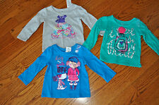 Nwt! Lot of 3 Girls The Children'S Place Cotton Tops~Size 18-24 Months~