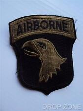 US Army 101st  Airborne Screaming Eagle Subdued Badge Sew On Patch