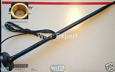 9dBi WiFi Antenna with Magnetic Base RP-SMA 5 Feet Extension Cable USA