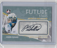 10-11 2010-11 BETWEEN THE PIPES CALVIN PICKARD AUTO BTP SIGNATURE A-CP AVALANCHE