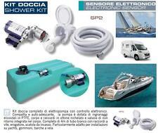AUTOCLAVE ELETTRONICA 12V-24V per  DOCCIA con SERBATOIO 107L BARCA CAMPER TK1/2