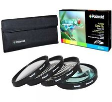 Polaroid Optics 67mm 4 piezas conjunto de filtro de cerca (+1, +2, +4, +10)