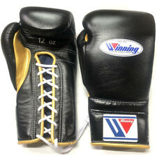Winning Boxing gloves Lace up 12oz Black x Gold from JAPAN FedEx tracking NEW-J2