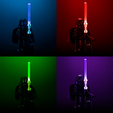 Light-Up Minifigure Lightsaber for LEGO Star Wars Minifigures