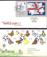 Nice Lot of 6 First Day covers from the 2000's World Cup 02 etc    (ZB1)