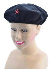 Sombrero Rojo #ARMY Boina comunista Estrella Roja marxista Revolutionist Cuba Vestido de fantasía