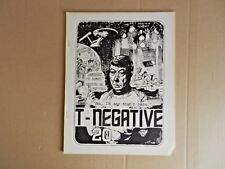 (Star Trek) T-Negative Fanzine #20 (1973) [Ruth Berman]