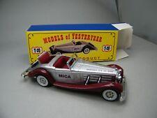 Matchbox MoY C2 Y-21 Mercedes Benz 540K silber/braun sehr selten OVP K14
