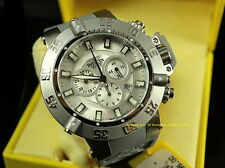 1894 Invicta Men 50mm Subaqua Noma III Swiss Quartz Chronograph Gray Strap Watch