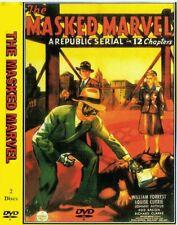 THE MASKED MARVEL 12 episode Cliffhanger Republic serial 1943