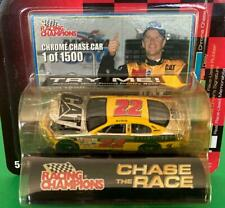 Racing Champions Chase The Race 1 of 1,500 Ward Burton CAT Under the Lights Chas