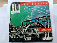 7'' PROMO REO SPEEDWAGON - CAN'T FIGHT THIS FEELING - EPIC SPAIN 1984 VG+