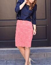 Cotton Straight, Pencil Floral Plus Size Skirts for Women