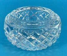 WATERFORD CRYSTAL IRELAND DIAMOND PATTERN CUT ASHTRAY