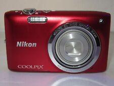 Nikon COOLPIX S2700 16.0MP Digital Camera - RED  +16GB
