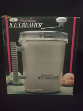 Vintage Nordic Ware Supremer Ice Creamer Hand Crank Ice Creme Maker