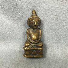 PHRA NGANG Khmer Statue Antique Buddha Thai Amulet Love Charm Sex Attraction #89