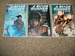 LOT 3 BLADE RUNNER 10 & 11 W/ VARIANT - TITAN COMICS 2019 - NM+