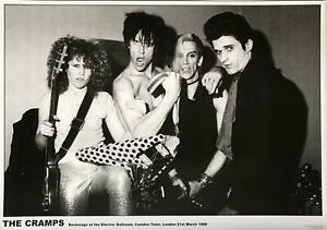 The Cramps Electric Ballroom London 1980 Reproduction UK Import  Poster 23.5 x 3