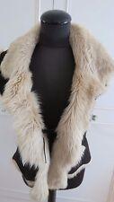 Joseph Shearling sheepskin vest women's gilet / jacket  sz UK10-12EU38US8
